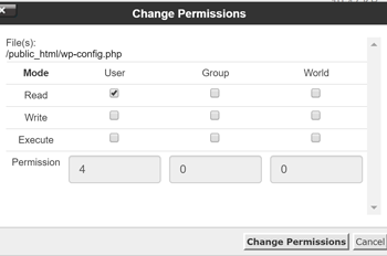cpanel-chang-permission